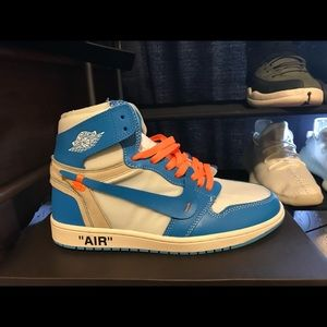Off White Air Jordan 1 UNC